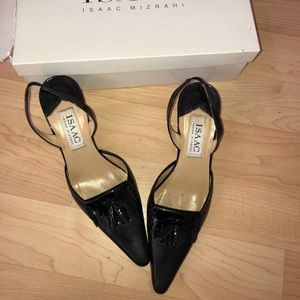 Isaac Mizrahi  Calf Italian Heels Sling backs pump